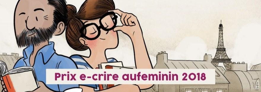 Prix aufeminin e-crire 2018
