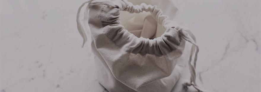 Sac blanc en tissu