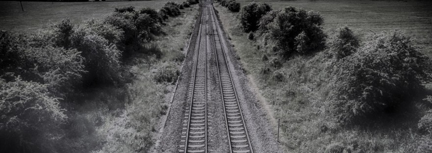 Rails vers l'horizon